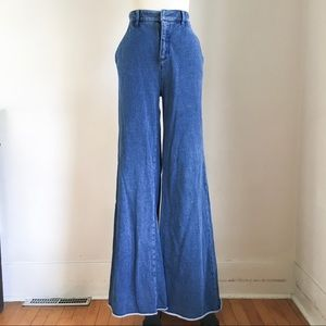 Anthropologie Wide Leg Jeans size 29""